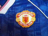 Classic Football Shirts 1988  Manchester United Vintage Old Retro Soccer Jerseys